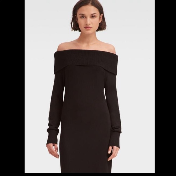 DKNY Off-the-shoulder Sweater Dress for Women